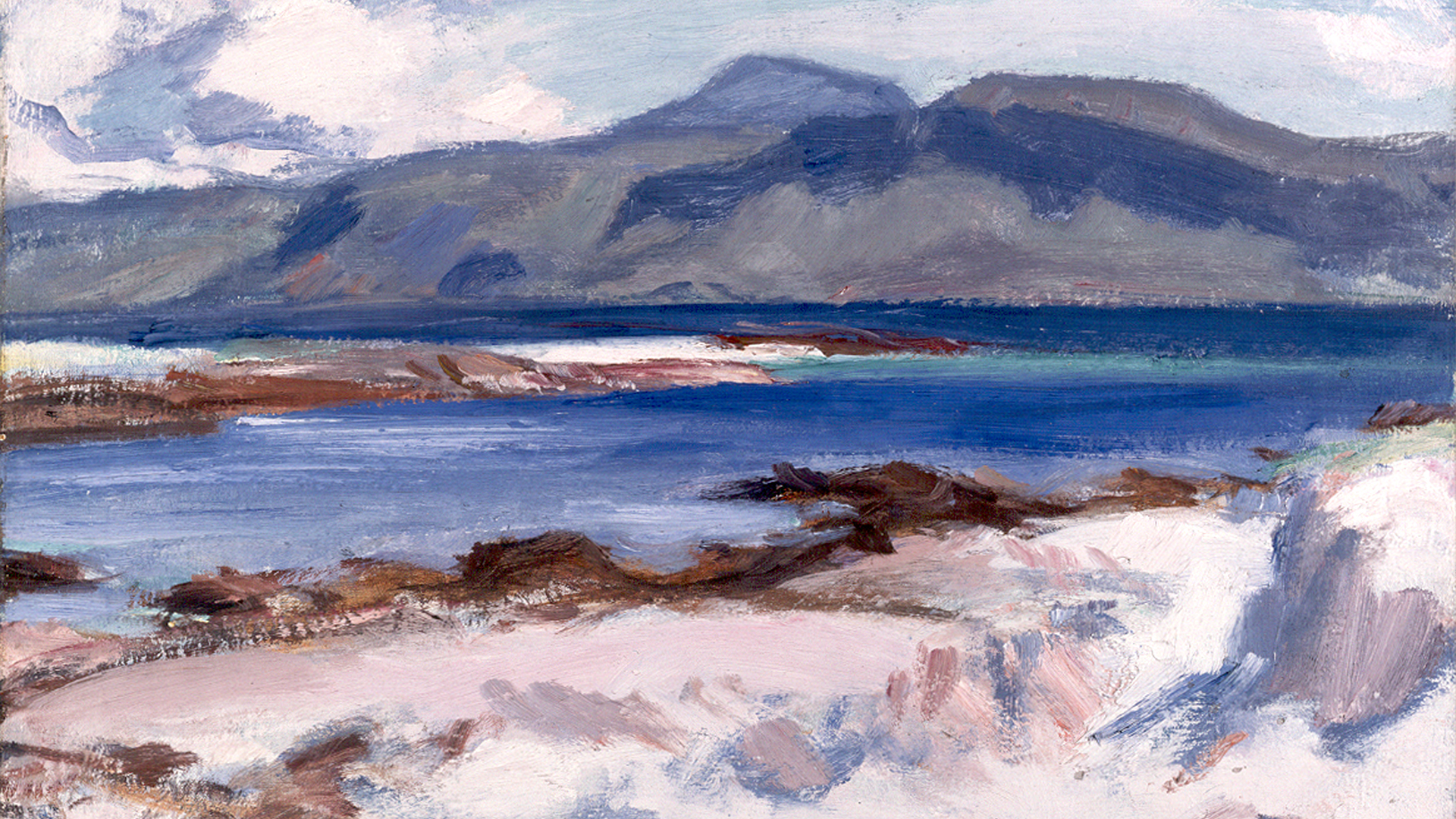 Blue-Sea-Iona-1927-by-Samuel-John-Peploe