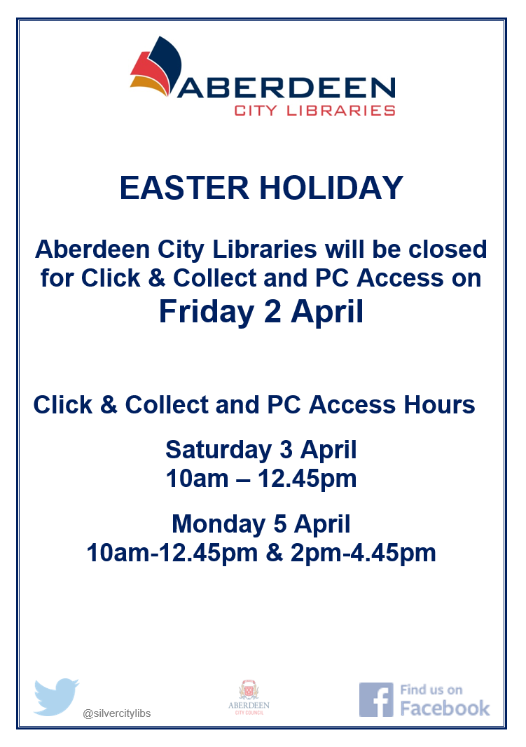 Library Easter Opening Hours