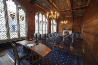 The Grant Room view of seating area